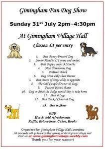 Gimingham Dog Show Poster Image